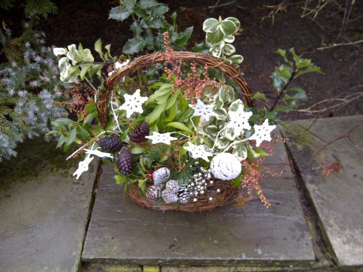 Home made basket